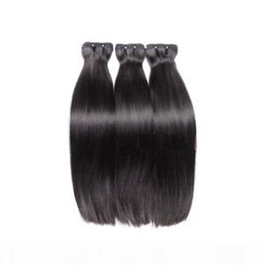 super double drawn straight tip hair unprocessed raw indian virgin remy human hair 3pcs 300g lot natural color last long time donor