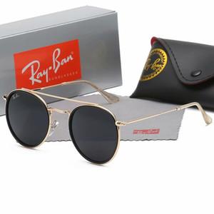 2020 광선 선글라스 빈티지 파일럿 브랜드 태양 안경 밴드 UV400은 박스 및 케이스 2,140 영업 이익 남성 여성 벤 선글라스를 금지합니다