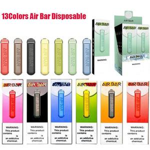 Air Bar Одноразовый POD Устройство Vape Pen Kit Батарея 500Уфуфты Предварительно заполненные пары Портативный Системный Стартовый Комплект VS Puff Bar Plus XXL