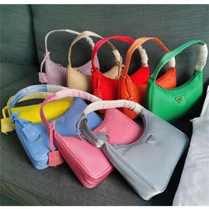 bolso de la alta calidad del bolso de hombro de lujo diseñador de moda Hobo vendimia buenos bolsos de las mujeres de los partidos de nylon reedición 2005 de un solo vano hombro
