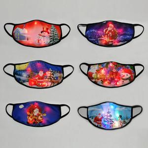 Noel Aydınlık Erkekler Ve Kadınlar Bar Nightclub Dans Noel Partisi Şenlikli Atmosfer Dikmeler için Yaratıcı LED ışık Maske