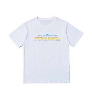 Brand New Fashion Herren T-shirt Streetwear Männer Frauen Hip Hop Kurzarm Herren Stylist Tees Black White