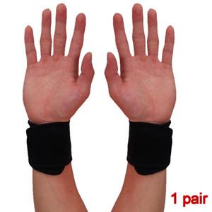 1 paire de basket-ball de plein air douce soutien confortable Athletic Fitness Carpal Tunnel Sport poignet réglable Brace Entorse Respirant