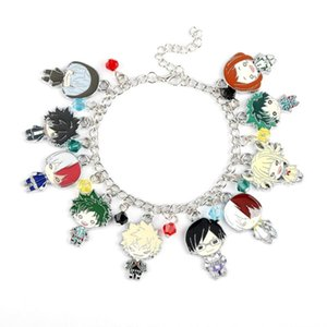 TV Cartoon Anime Bracelet Inspired The hero's College Pendant Accessory Bracelet With Lobster Claw Clasp