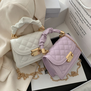 HBP NEW 2021 летние дикие дикие сумка женская корейская версия Trend Chain Messenger рюкзак Net красная модная цепочка