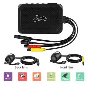 Мотоцикл DVR камера мотоцикла 1080P HD Двухместный объектив передний и задний рекордер вождения автомобиль DVR ночного видения рекордер автомобиля