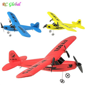 RC Electric Airplane Remote Control Plane RTF Kit EPP Foam 2.4G Controller 150 Meters Flying Distance Aircraft Global Hot Toy 201105