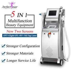 3000w LASER Большого Frequuency IPL + RF + Elight + удаление татуировок лазер многофункциональных пигментации удаление электронной свет лазер машин для удаления волос