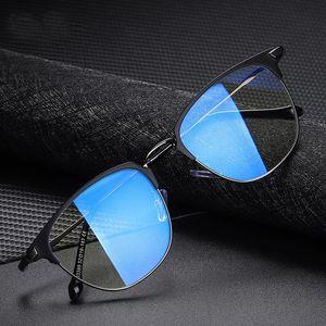 2020 رجل إمرأة نظارات UV400 نظارات أزرق فاتح حجب واضح البصريات أنثى الأزياء الكمبيوتر نظارات السيدات المرأة للرجال