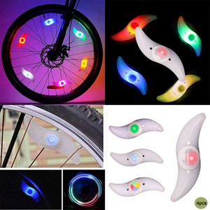 Bike Spoke Light Bicycle wheel Lights cycling LED Flash lamp Bicycle Accessories MTB Wheel Safety and Warning lamp Bike lights