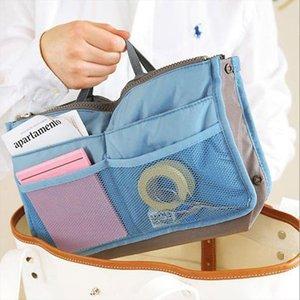 Multifunction Make Up Women Makeup Organizer Bag Dual Zipper Cosmetic Bag Toiletry Travel Kits Storage Bags neceser