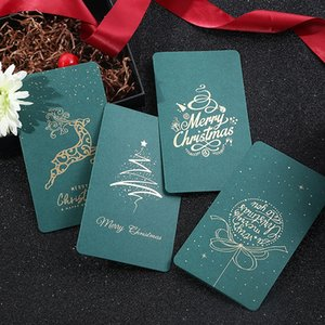 Christmas Thank Blessing You DIY Creative Gift Bouquet Decoration Message Card Universal Invitations Letter Greeting Cards