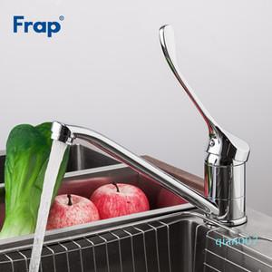 FRAP Смеситель для кухни холодной и горячей воды Смеситель Chrome Готовые работы Лекарственное Tap сверхдолгое одной ручкой F4954
