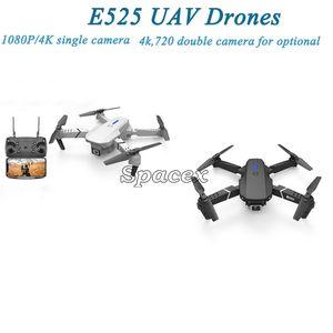 E525 1080P 4K Camera RC Drones Quadrocopter UAV WiFi FPV Headless Mode HD Height Hold Remote Control Foldable Mini Drone