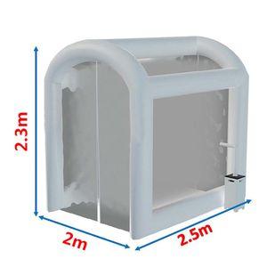 تخصيص هايت الجودة نفخ تطهير خيمة في الهواء الطلق محكم مؤقت نفق الطبية خيمة مكعب منزل لعلاج الطوارئ تعقيم