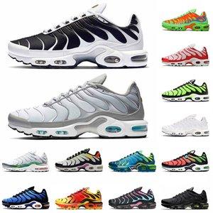 nike air max airmax tn plus se Venda quente 2021 Fumo Cinza Running Shoes Mens Mulheres Oreo Worldwide Volt Glow Rainbow Tigre Mean Verde Treinadores Treinadores Verde Sapatilhas