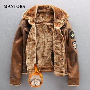 2020 Pu Jacket Men Thick Warm Bomber Tactical Leather Jackets Mens Outwear Fleece Fur Windbreaker Coat Male 4XL Clothes1
