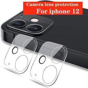 Пленка камеры для iPhone 12 Pro Max 12PRO 11 Мини Полное покрытие Закаленное стекло Экран Камеры Кейс защитный чехол с розничной упаковкой