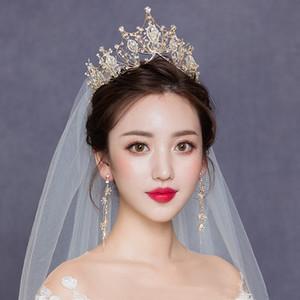 Crystal Bridal Hair Jewelry Crystal Crown Women Wedding Headdress Hair Jewelry Accessories Headdress Gifts