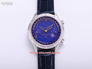 6 Style Best Quality 44mm 5102 5106 6104 Dynamic Starry Sky Dial Pearl Tuo Cal.240 Lu CL C Mouvement Mécanique Automatique Hommes Montres Montres