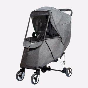 Umbrella Stroller Windshield Rain Universal Rainproof Accessories Stroller Children Car Warm Cover Overclothes Teelg
