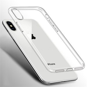 Clear Silicone Soft Case For iPhone 11 Pro Max XR Xs max Coque 7 8 Plus 6 S 6S 5 5S 5SE 6Plus 7Plus 8Plus Back Cover TPU Etui