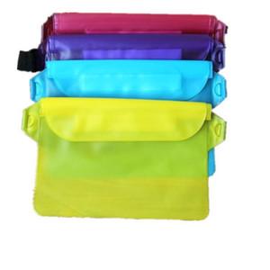 Universal Phone Waterproof Waist Bag Cellphone Waterproof Pouch Case Phone Pocket Waterproof Waist Pack for Swimming LX1810