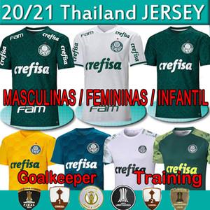 Libertadores Finals 2020 2021 Palmeiras Soccer Jersey Luiz Adriano Felipe Melo Willian Camicia da calcio Uomo Donna Kids Kit Kit Kit Portiere Maglie
