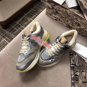 Delle donne degli uomini Ultrapace scarpa da tennis con riflettente Tessuto, Scarpe da corsa Classic Flat Runners oversize Sneaekers Multicolor