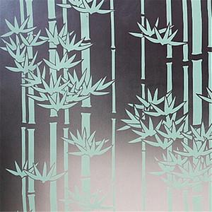 Verdickte Kleber Freier PVC-Mattglas-Film-Fenster Badezimmer Aufkleber Transparent Opaque Hell Multi Color Matte Hintergrund-Tapete W wx4p #