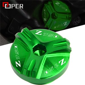 Motorcycle CNC Accessories For kawasaki Z750 Z 750 Z750 2004-2010 2006 2007 2008 2009 Engine Oil Filler Cap Plug Green Red Gold