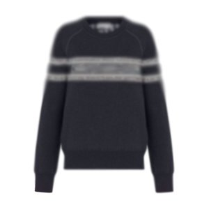 20FW Double-sided Wear Jacquard Knitting Pullover High Street Fashion Crewneck Sweatshirt Men Women Autumn Winter Sweater HFYMMY078
