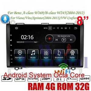 WANUSUAL Android 8.0 Car GPS For A-class W169 B-class W245 (2004-2012) Viano Vito Sprinter 2004-2013 For VW Crafter NO DVD