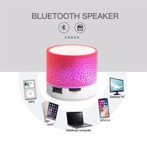 LED Light Bluetooth Speakers Mini Outdoor Wireless Speaker Stereo Portable Support SD Card Subwoofer Loudspeaker