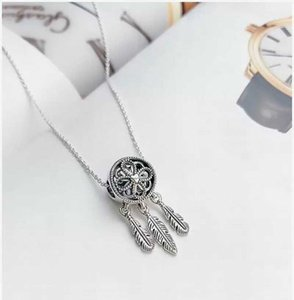 dream catcher necklace beautiful simple fashion light luxury clavicle chain exquisite trend pendant forest style personalized g e0Hy#