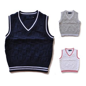 Fashion Brands Children Polos Sweater Kids Sweater Baby Tops Clothing Girls Outerwear Sweaters Boys Polos Sweaters 007