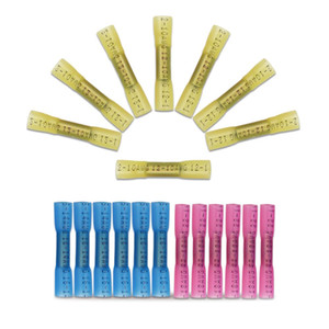 1 10 40 100PCS Terminals Waterproof Wire cable Connector AWG 22-18   12-10   16-14 Heat Shrink Electrical Wire Splice Terminal