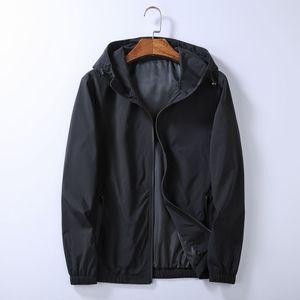 Защита на молнии с капюшоном на молнии Cousssuit Мужские куртки Пальто Осень Тонкая верхняя одежда Стилист Куртки Мужчины Женщины Дизайнерская Куртка Пальто Q01
