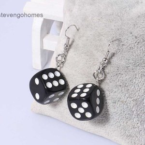 for wind dice earrings Personal girls creativity: