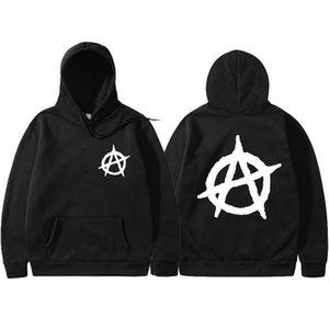 3D Print 2019 New Anarchy Punk Rock Deesign Patchwork Style Non Sweatshirts Vintage Fashion Spring Autumn Hoodies Men X1022