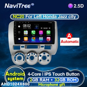 For Honda Jazz 1 GD 2001 - 2008 Fit Car Radio Multimedia Video Player Navigation GPS Android 2G+32G