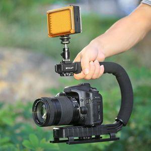 U-Shaped Camera Stabilizer Portable Camera DV Bracket Holder for All SLR Cameras Home DV Estabilizador Steadycam1