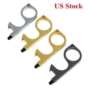 No Touch Door Opener Anti Contact Door Tool Rubber Tip Portable Door Handles Contactless Safety Press Elevator Tool Wedding Favors