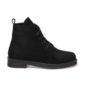 Flo Delvon Black Women Boots Butigo