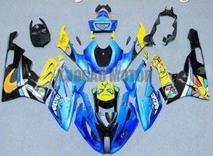 Alta qualità Nuovi ABS Injection Kowlings Body Kit Blue Yellow Nero per BMW BMW S1000RR 2015-2016 Fairings S1000 RR 15-16 carrozzeria