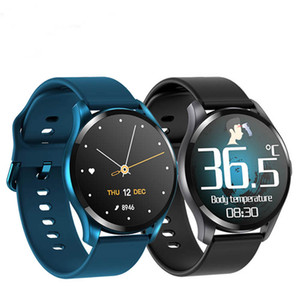 Smart orologio fitness Tracker Inteligente frequenza cardiaca della pressione sanguigna attività di test inseguitore con termometro orologi del monitor