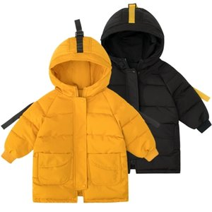 Down Jackets Girls Kids Boys Toddler Coat Children Spring Outerwear Coats Casual Baby Clothes Autumn Winter Parkas for 2-8 Years 201102