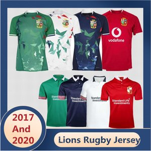 2017/2021 Lions britannico e irlandese Casa e via e allenamento Rugby Jersey Scotland Wales Galles di rugby Dimensioni: S-5XL