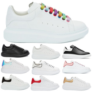 Cheap Rainbow Oversized Sneaker High Quality Men Women Iridescent Black White Red Gold Teal Oyster Platform Design Shoes Size 35-44
