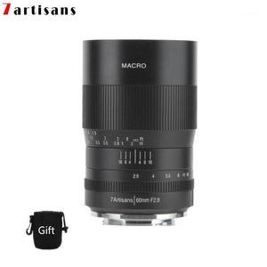 7Artisans 60mm F2.8 Lente macro de ampliação é adequado para o Canon Eosm EosR e Fuji M43 Nikon Z Mount1